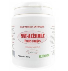NAT ACEROLA FRUITS ROUGES 400g