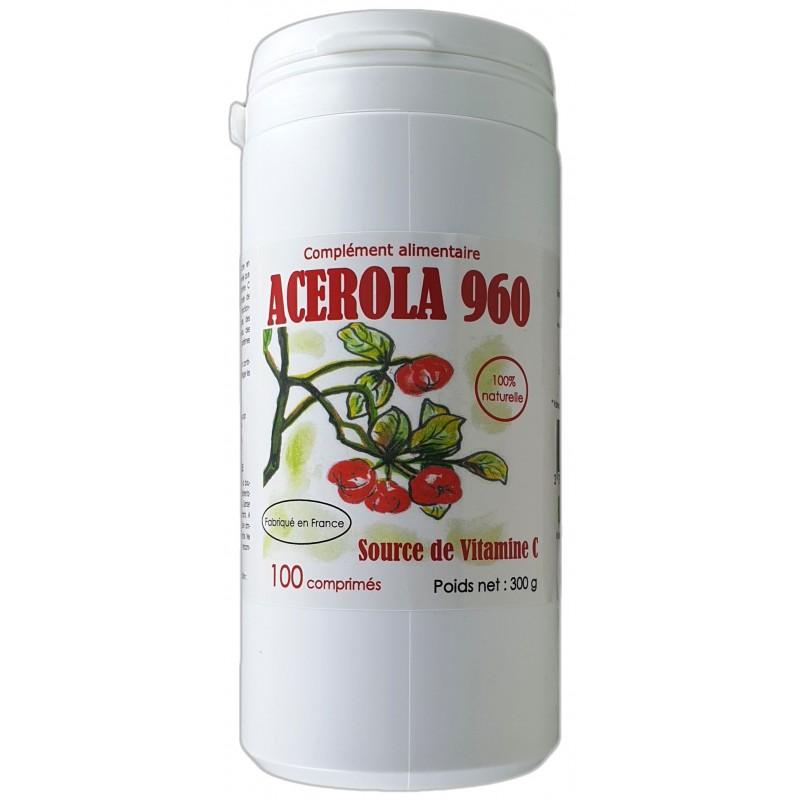 ACEROLA 960 x 100 comprimés
