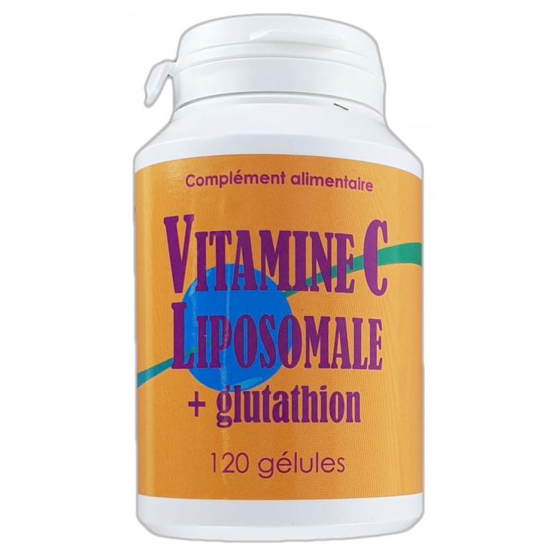 Vitamine C Liposomale et glutathion 120gélules